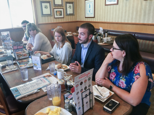 Hunter Cantrell Candidate Breakfast 7232018