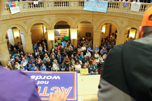 ARRM MOHR Disability Services Day at the Capitol Rally, 2017