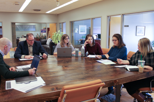 ARRM Staff in a meeting, January 22