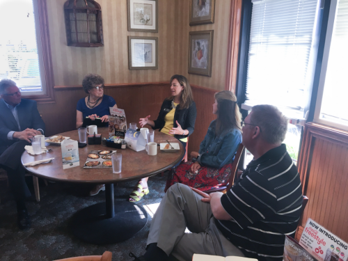 Roz Peterson Candidate Breakfast 7232018